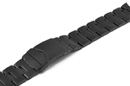 Stainless steel bracelet black PVD