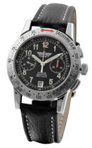 Poljot Chronograph 3133 Black