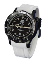 NH35A-5104142 White Strap - Vostok Europe Anchar