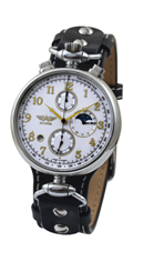 WRIGHT BROTHERS Aviator Chronograph 31679 MOONPHASE